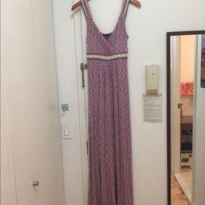 Cable & Gauge maxi dress